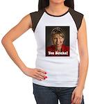 YOU BETCHA Sarah Palin Women's Cap Sleeve T-Shirt