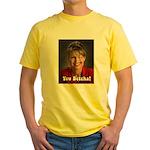 YOU BETCHA Sarah Palin Yellow T-Shirt