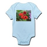 Cute Poppy flower Onesie
