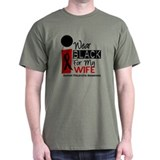 I Wear Black For My Wife 9 T-Shirt