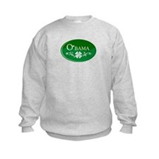 ::: Irish O'bama 44th President ::: Sweatshirt