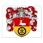 Timmers Family Crest Small Poster