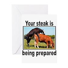 Steak Greeting Cards (Pk of 20)