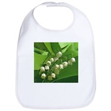 Cute Lily of the valley Bib