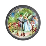 THE MARRIAGE OF THUMBELINA Wall Clock