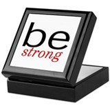 Be Strong Keepsake Box