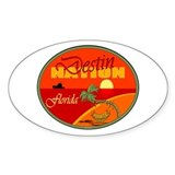Destin Florida Oval Decal