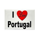 I Love Portugal Rectangle Magnet (10 pack)