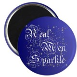 "Real Men Sparkle Twilight 2.25"" Magnet (10 pack)"