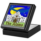 Starry Night Alamo Keepsake Box