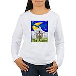 Starry Night Alamo Women's Long Sleeve T-Shirt