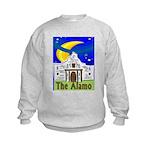 Starry Night Alamo Kids Sweatshirt