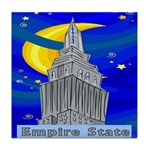 Starry Night New York Tile Coaster