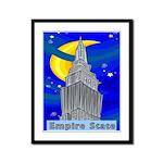 Starry Night New York Framed Panel Print