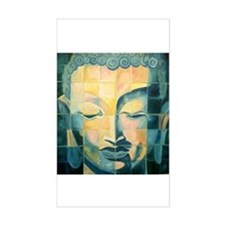 Tile Buddha Rectangle Decal