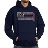 US Hockey Flag Hoody