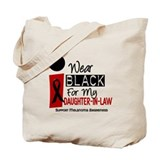 I Wear Black For My Daughter-In-Law 9 Tote Bag