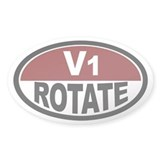 V1 Rotate Oval Decal