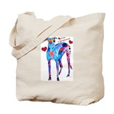 Love a Greyhound Tote Bag