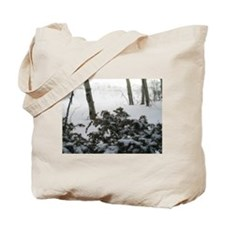 Winter Shrubs Tote Bag