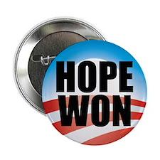 "Hope Won - Barack Obama Logo 2.25"" Button (10 pack"