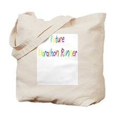Future Marathon Runner Tote Bag
