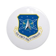Space Command Ornament (Round)