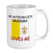 My Vatican City Grandma Loves Me Mug