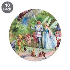 "THE MARRIAGE OF THUMBELINA 3.5"" Button (10 pack)"