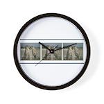 Cheetas Tri Wall Clock