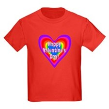 rainbow heart valentine 1 T