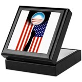 Obama#1 Keepsake Box