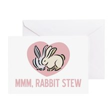 Rabbit Stew Greeting Card