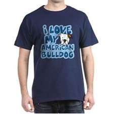 I Love my American Bulldog T-Shirt