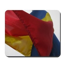 Romanian Flag Mousepad