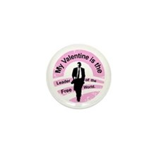 Obama Valentine Mini Button (10 pack)