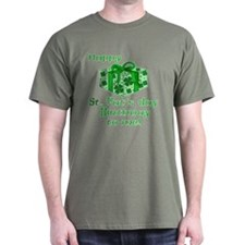 St Pats Birthday with Gift T-Shirt