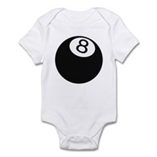 Riyah-Li Designs 8 Ball Infant Bodysuit