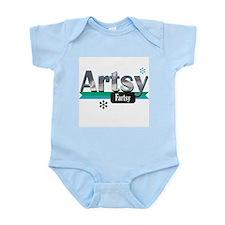 Artistic, Artsy Fartsy Infant Bodysuit
