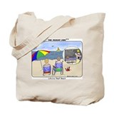 "Life's a ""Real"" Beach! Tote Bag"