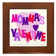 Momma's Valentine Framed Tile