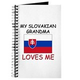 My Slovakian Grandma Loves Me Journal