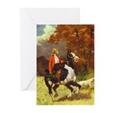 Sidesaddle Paint Greeting Cards (Pk of 10)