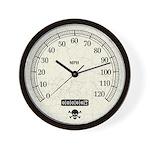 Speedometer Wall Clock