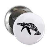 "Humpback Whale 2.25"" Button"