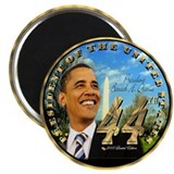 """Obama Inauguration"" 2.25"" Magnet ("