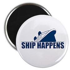 """Ship Happens 2.25"""" Magnet (100 pack)"""