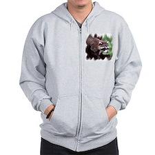 Raccoon Zip Hoody