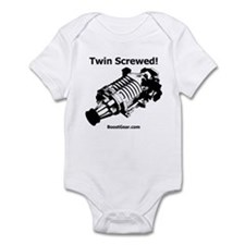 Twin Screwed! - Supercharger - Infant Bodysuit