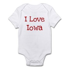 I love Iowa Infant Bodysuit